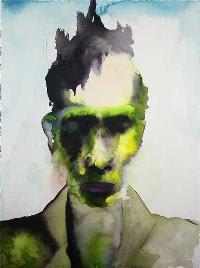 The Enabler, pintura de Marilyn Manson.