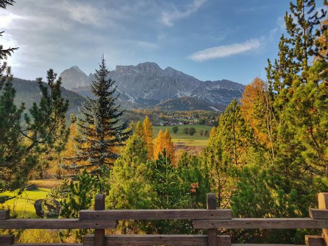cortina d'ampezzo foliage autunno