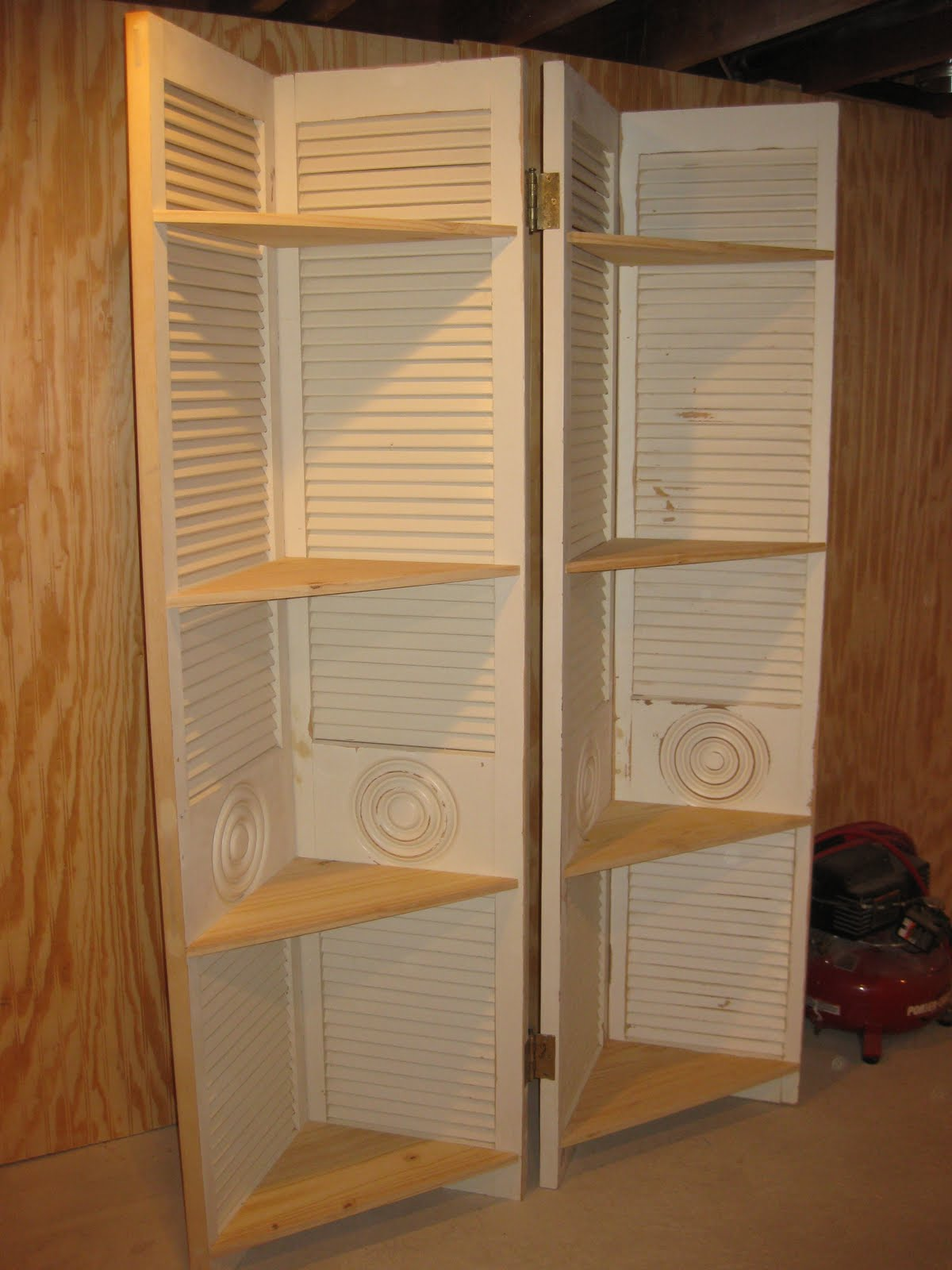 Rekaced Designs Louvered Doors Disguised As A Screen