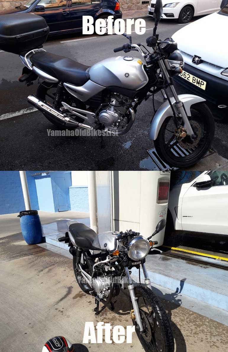 Cafe Racer Simple Conversion Tips For Yamaha YBR 125