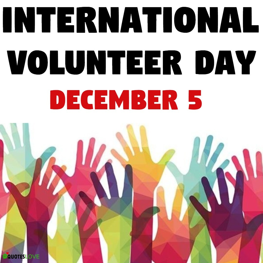 International Volunteer Day 2019 Images, Poster