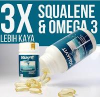 Promo Terkini Squavit Isi 40 Softgel @1000Mg Minyak Hati Ikan Hiu Squalene Omega Pdo Promo Terkini