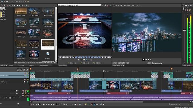 Download Sony Vegas Pro 15 Screenshots