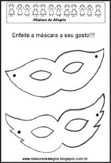 Máscaras para carnaval