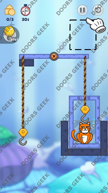 Hello Cats Level 164 Solution, Cheats, Walkthrough 3 Stars for Android and iOS