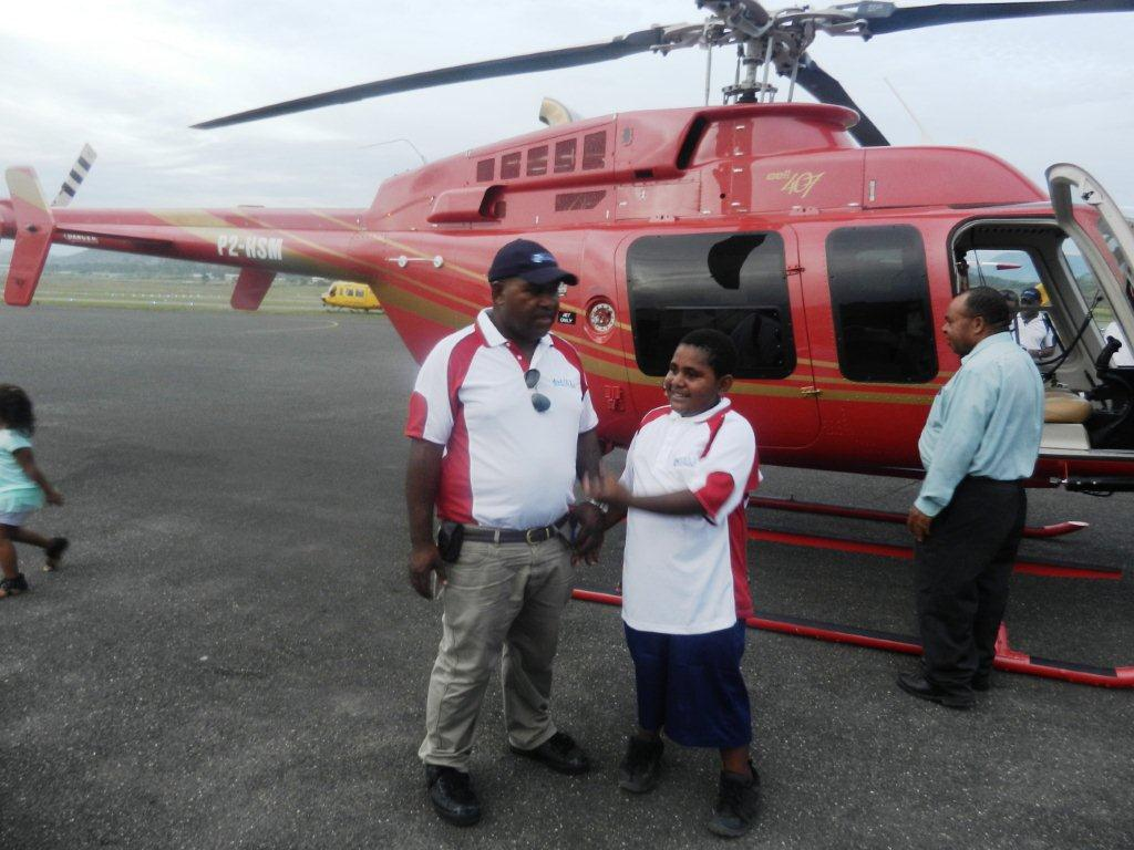 Malum Nalu: PNG-owned aviation company gets its second helicopter