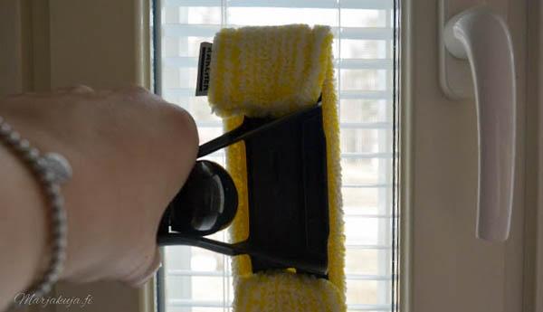 kärcher ikkunapesuri puhtaat ikkunat