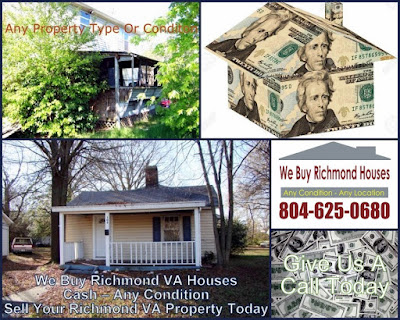 We Buy Metro Richmond VA Houses Cash Any Condition
