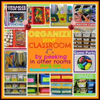 photo of: Organization in the Classroom RoundUP via RainbowsWithinReach