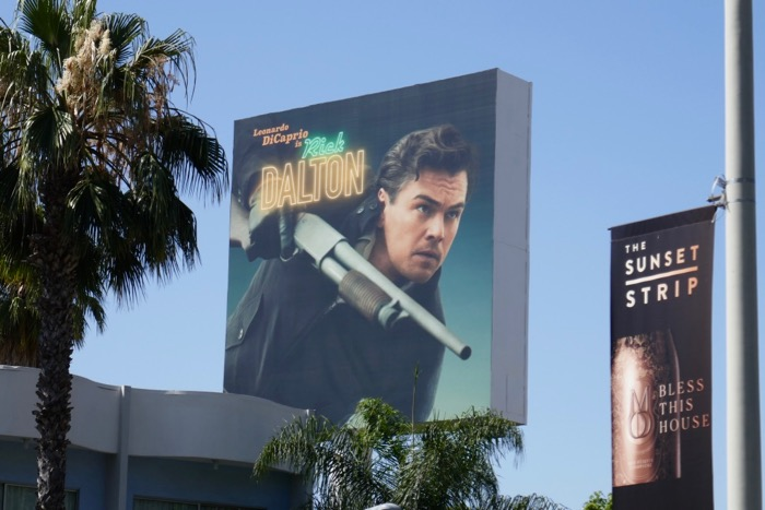 Rick Dalton Once Upon Time in Hollywood billboard