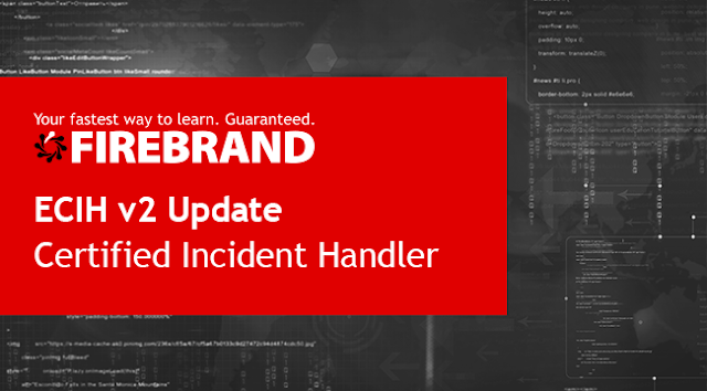 ECIH v2 Update Certified Incident Handler title image