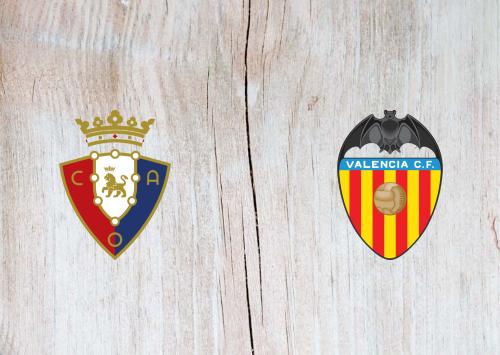 Osasuna vs Valencia -Highlights 27 October 2019