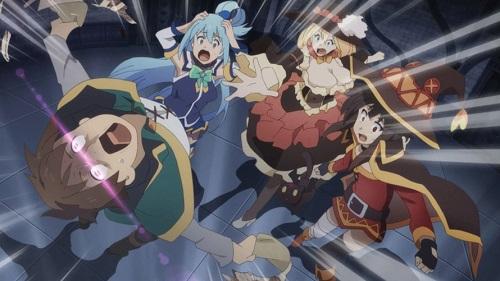 "Konosuba anime ""Kazuma Party"""