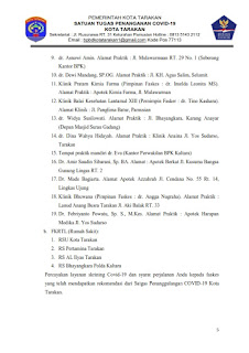 Press Release COVID-19 Tarakan 07 Juli 2021