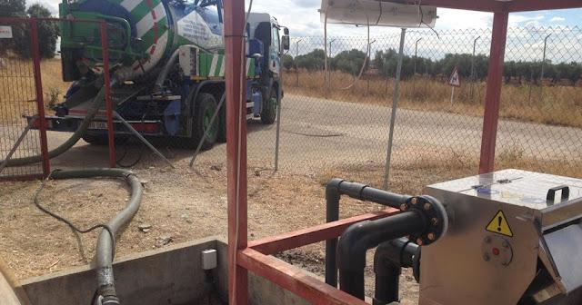 Limpieza de depósitos con camiones cuba Navalcarnero