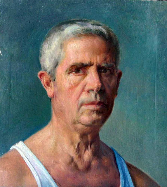 Luis Carrillo Torres, Portraits of Painters, Self Portrait