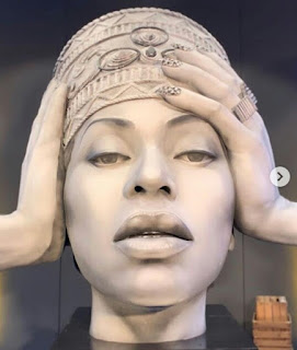Fans React As Statue Of Beyonce Unveiled [Photos]