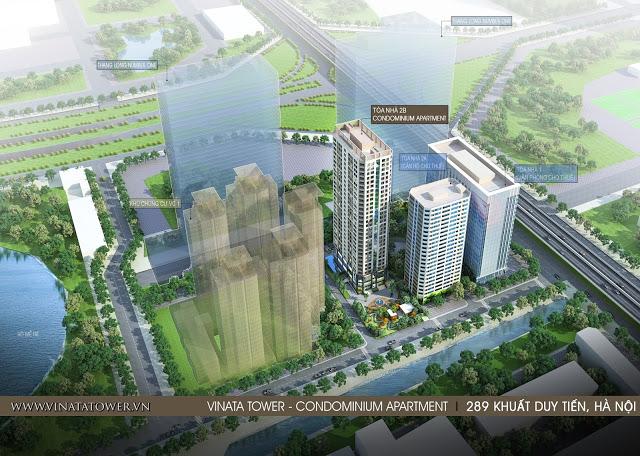 Phối cảnh dự án Vinata Tower