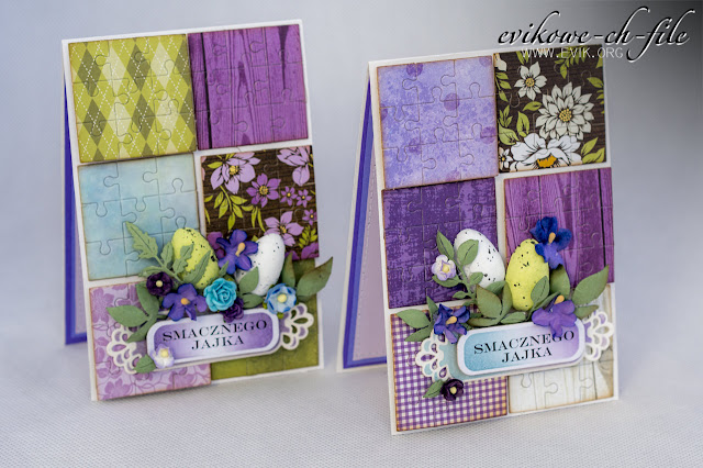 Crafty Ann - Puzzle CABD-105, puzzle die, Wild orchid crafts, smacznego jajka,