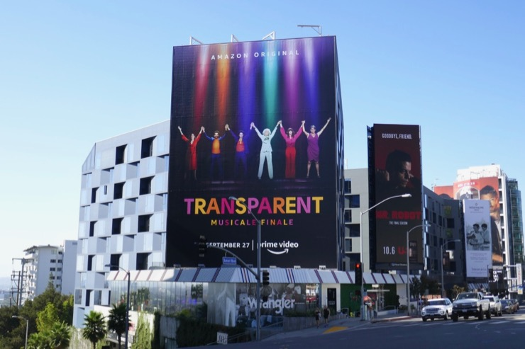 Giant Transparent musicale finale billboard