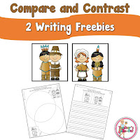 Thanksgiving Compare and Contrast Freebie