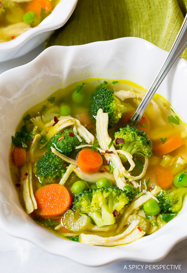 Chicken Detox Soup cleanse