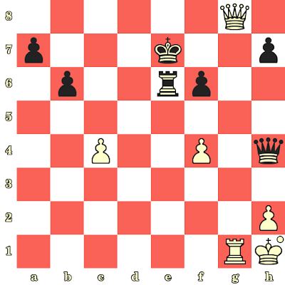 Les Blancs jouent et matent en 4 coups - Magnus Carlsen vs Lenier Dominguez, Sofia, 2009