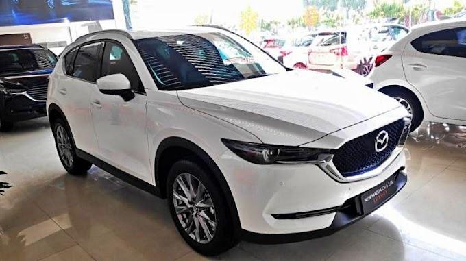 Mazda CX 5. 2021. Màu trắng. Mới 99%