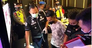 Tim Gabungan Ditresnarkoba Polda Jateng Operasi PPKM dan Narkoba Tempat Hiburan Malam