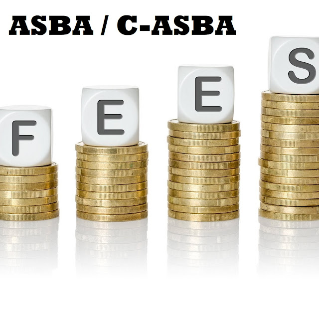 ASBA / C-ASBA and its Charges of Commercial Banks in Nepal (2021)