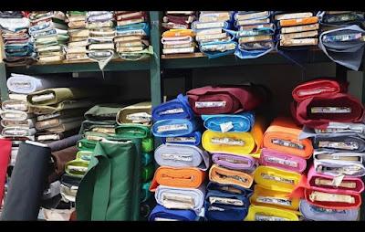 grosir kain dan peralatan menjahit di Surabaya