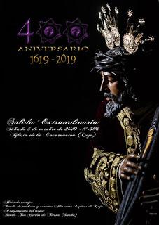 Horario e Itinerario de la salida extraordinaria del Nazareno de Loja.
