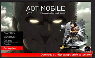 AOT Mobile Fangame Apk Mod by Julhiecio