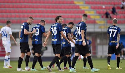 ملخص واهداف مباراة انتر ميلان ودينامو كييف (3-0) مباراة ودية
