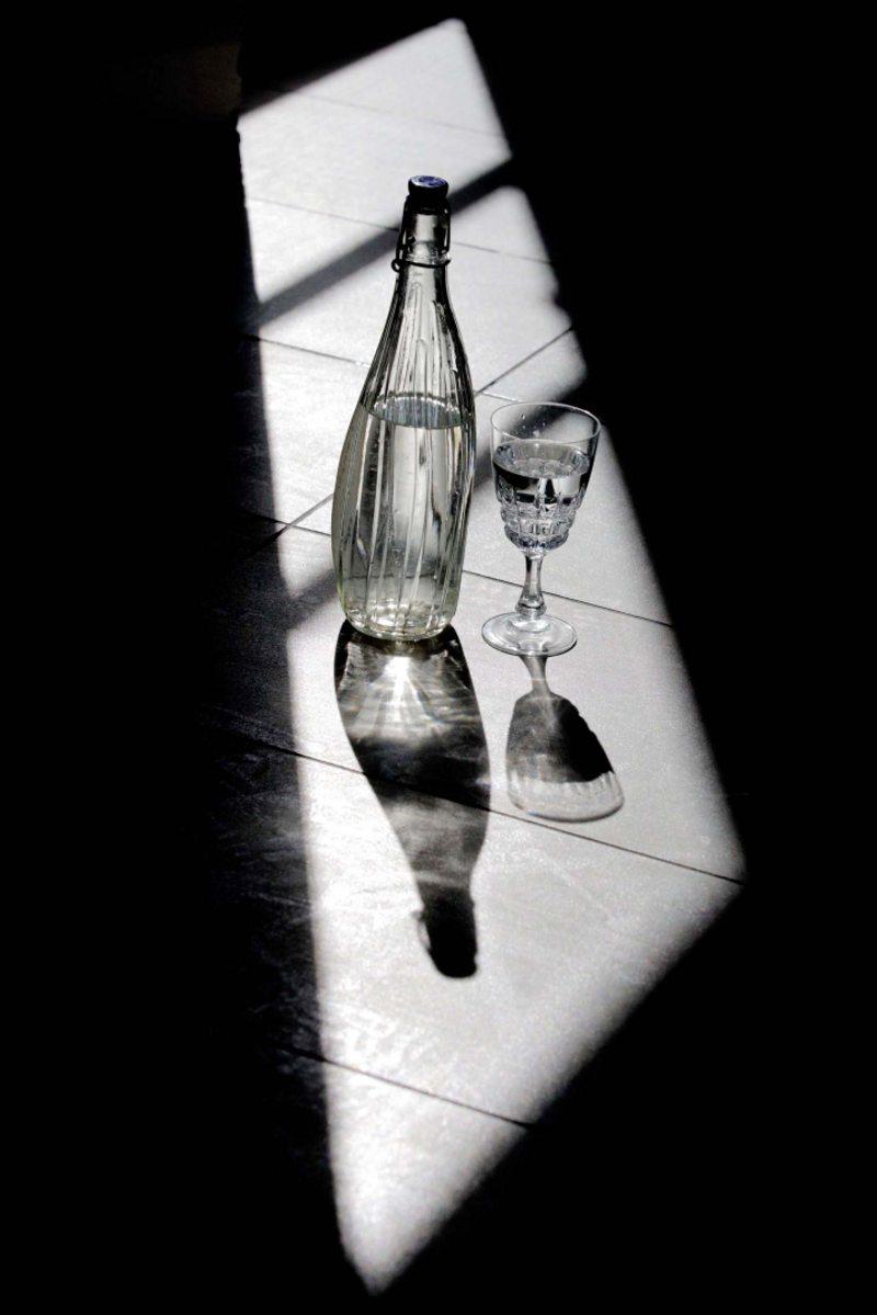 las copas rotas no van en el contenedor de botellas de vidrio
