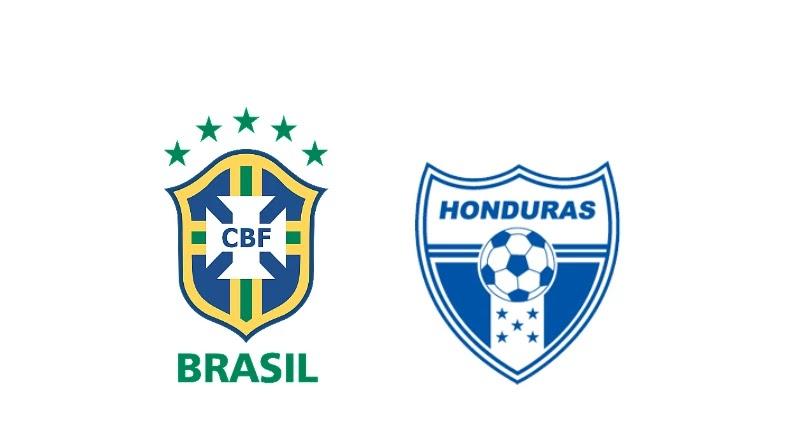 البرازيل ضد هندوراس فى مباراة ودية