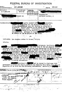 Documentos del FBI para la búsqueda de Hitler en Argentina