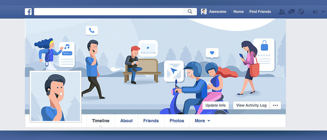 Cara Membuat Video Header Facebook