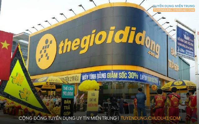Thế giới di động đà nẵng tuyển dụng, thegioididong da nang tuyen dung