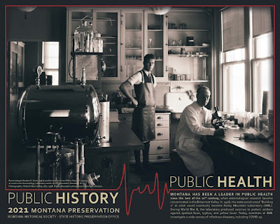 State Historic Preservation Office Public History, Public Health Poster, 2021
