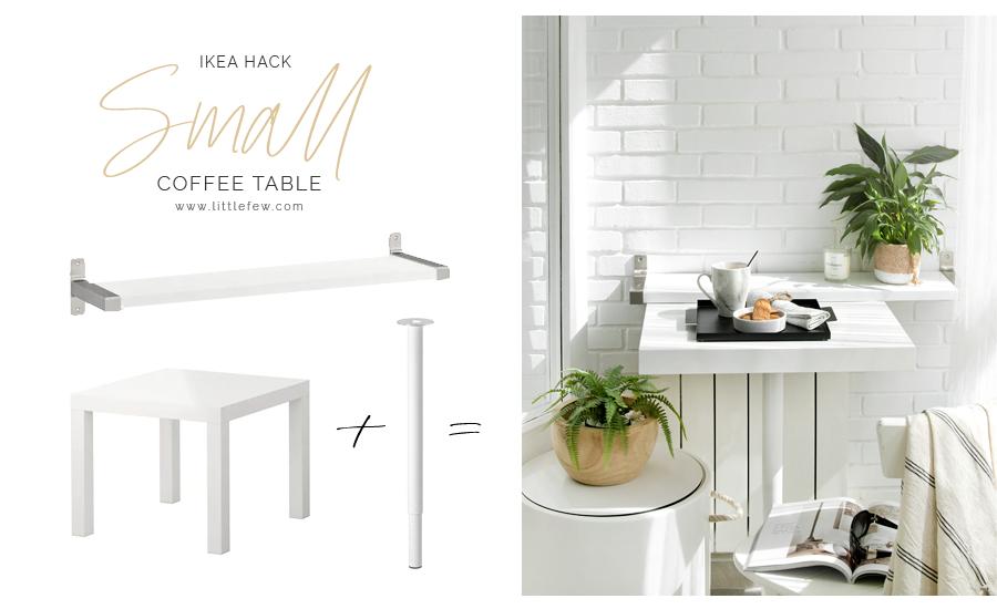 IKEA HACK - terrace bar coffee table / mesa café para terraza
