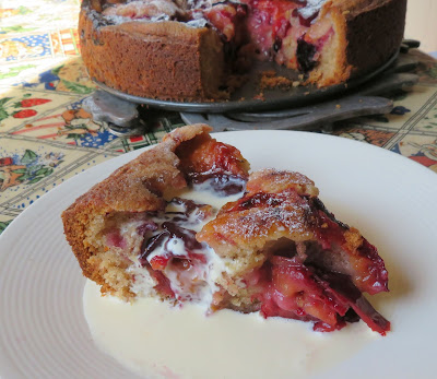 Spiced Plum Cake