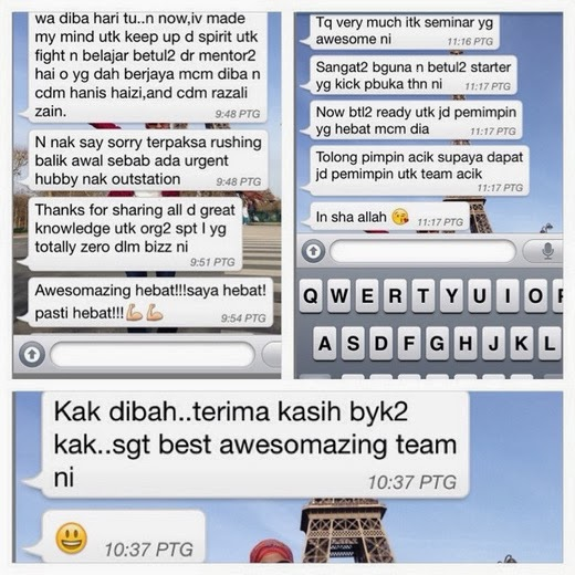 Testimoni seminar Awesomazing Kick Start 2014
