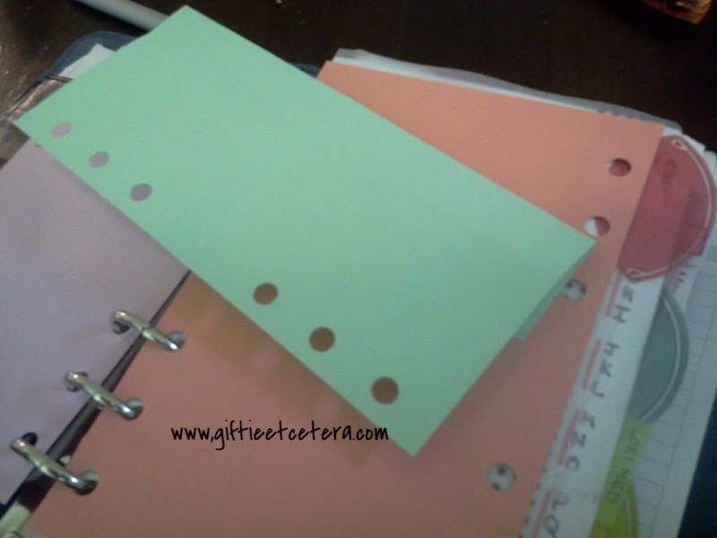 planner, paper folding trick, note taking