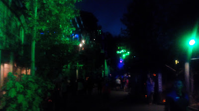 dollywood at night