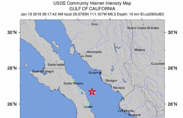 Terremoto oggi in tempo reale adesso ora in questo momento