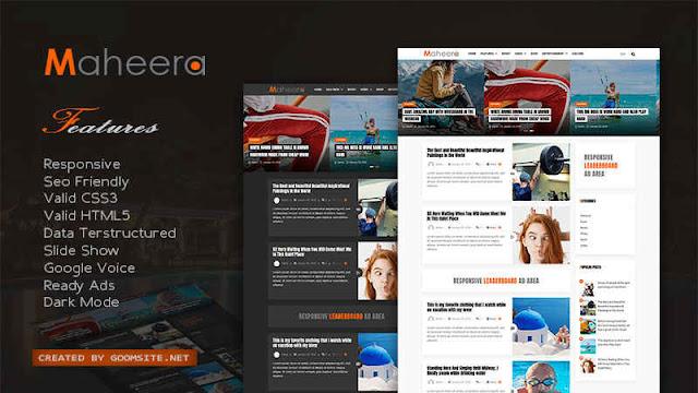 MagPro Premium v1.4 - Responsive News & Magazine Blogger Template