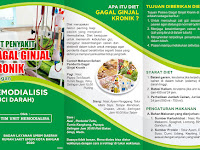 DOWNLOAD LEAFLET DIET GAGAL GINJAL DOC