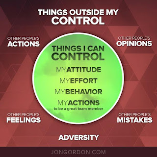 Things which I am able to control