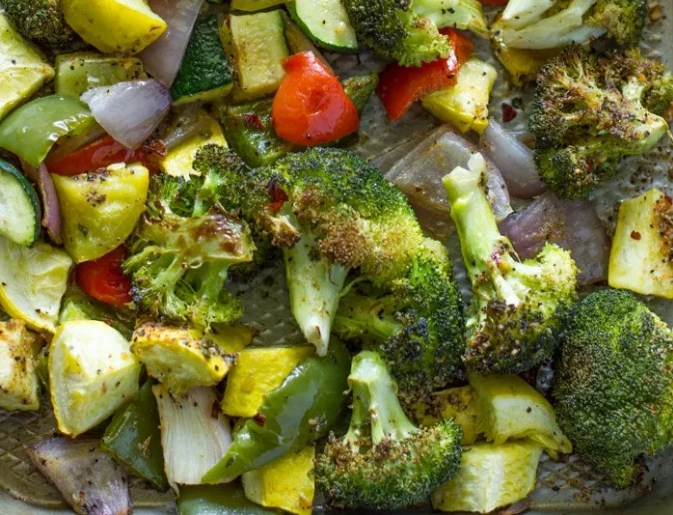 Easy 20 Minute Roasted Veggies